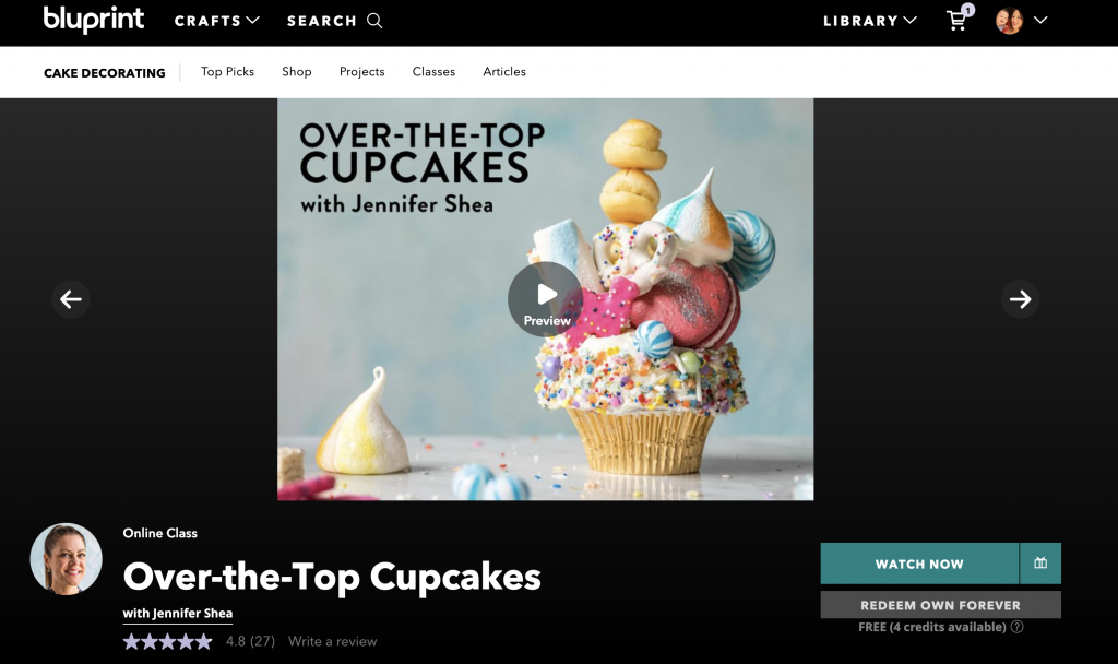 Over The Top Cupcakes
