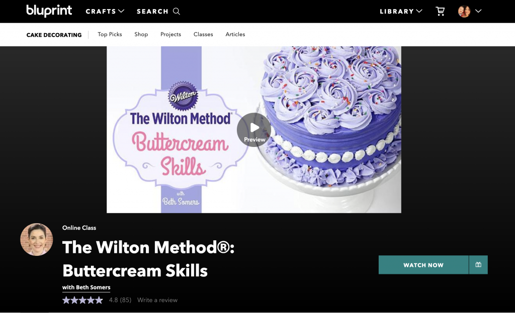 The Wilton Method Buttercream Skills
