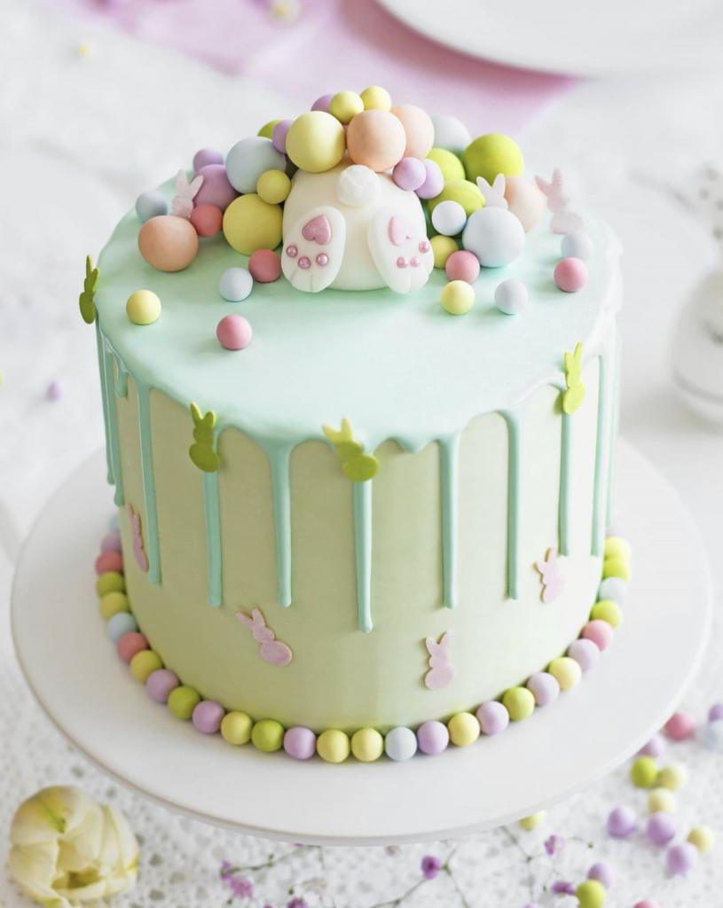 Precious Bunny Cake