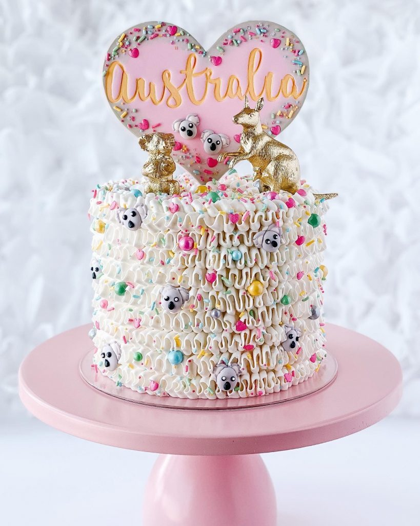 Amazing Australia Inspired Cake