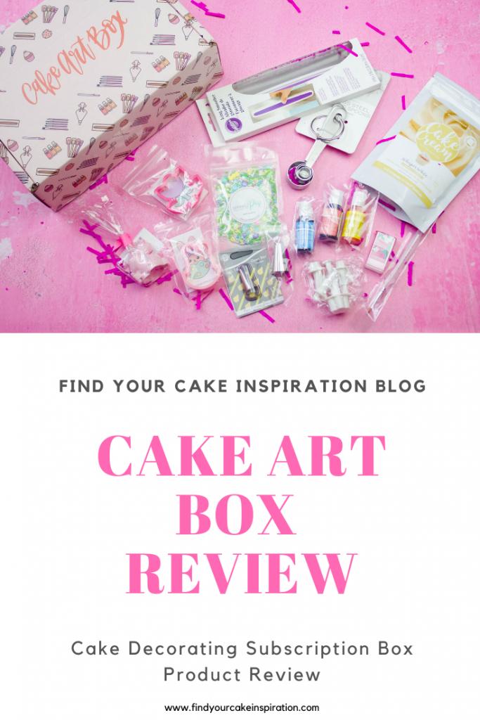 Cake Art Box