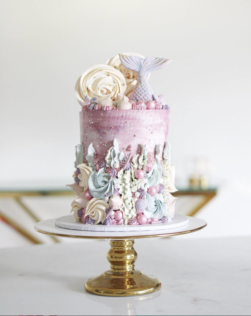 Darling Mermaid Cake