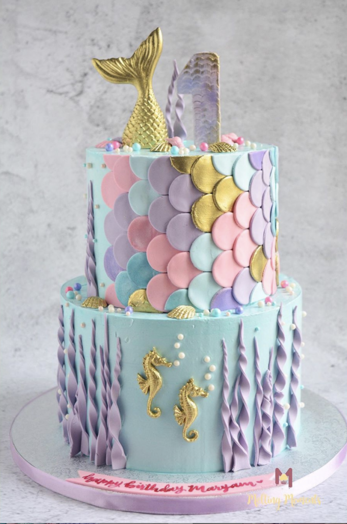 Lovely Mermaid Cake