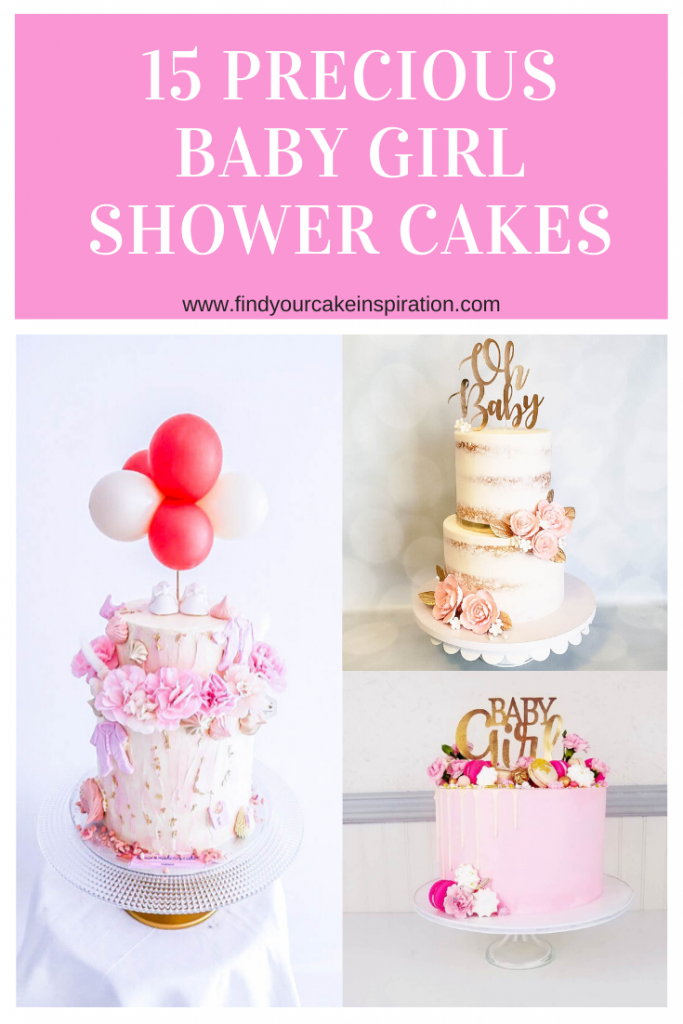 15 Precious Baby Girl Shower Cakes
