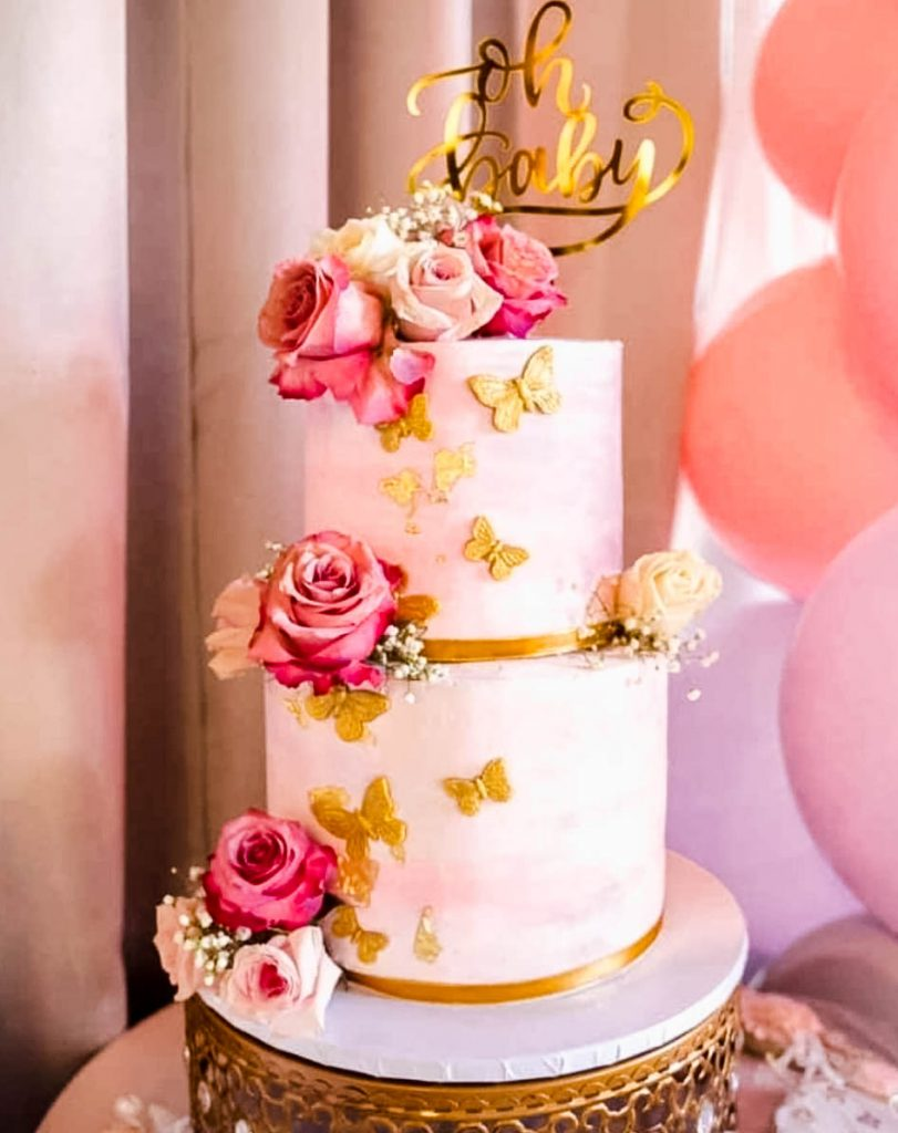 Beautiful Butterfly Cake