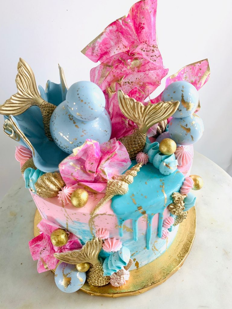 Beautiful Mermaid Cake