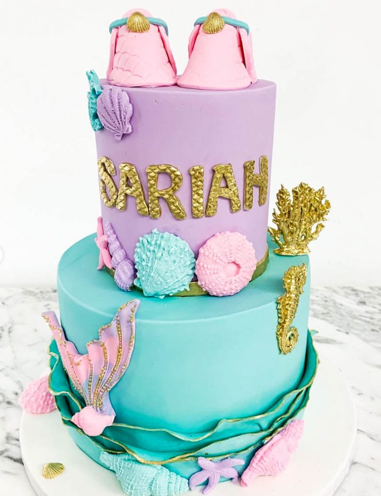 Gorgeous Mermaid Cake