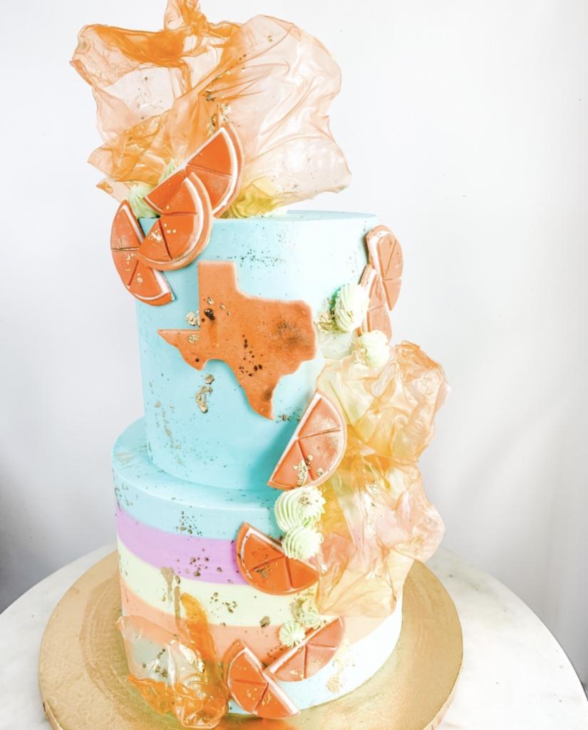 Texas & Oranges Cake