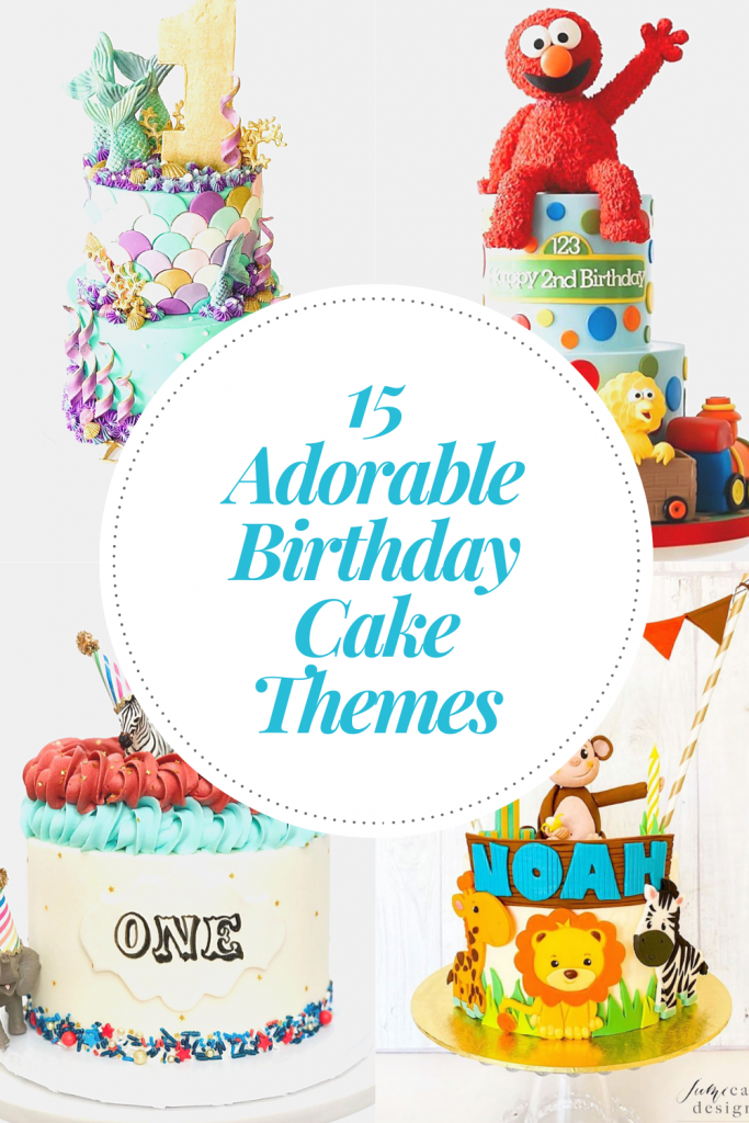 15 Adorable First Birthday Cake Ideas  on Find Your Cake Inspiration | www.findyourcakeinspiration.com