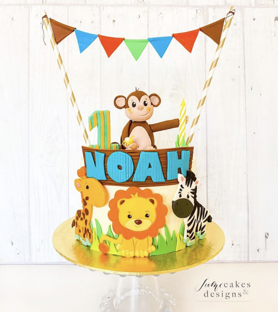 Safari Birthday Cake