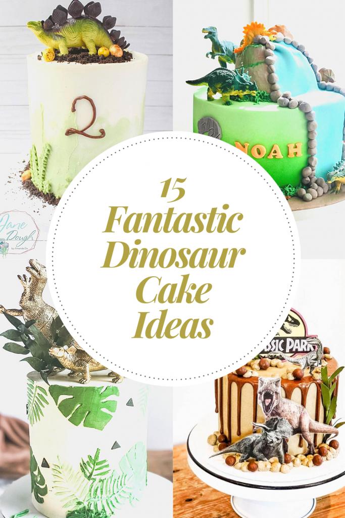 15 Fantastic Dinosaur Cake Ideas