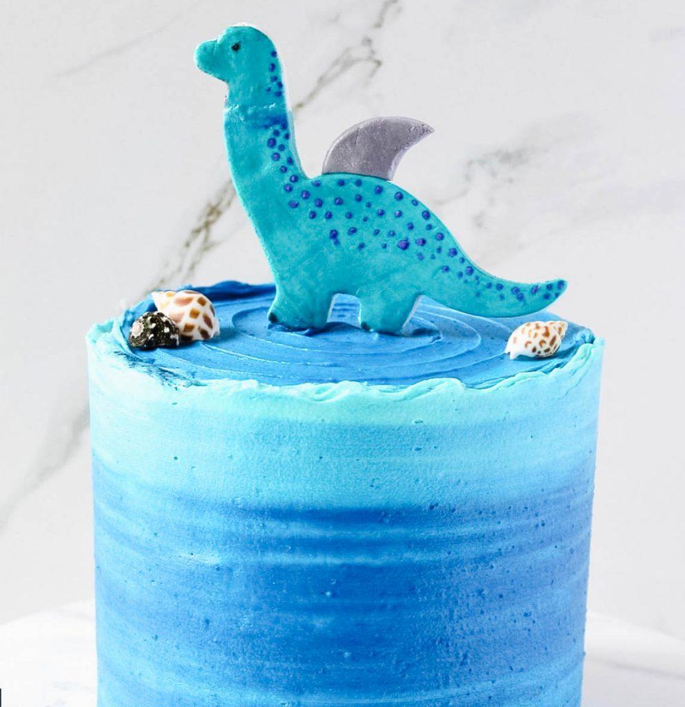 Shark Dinosaur Cake