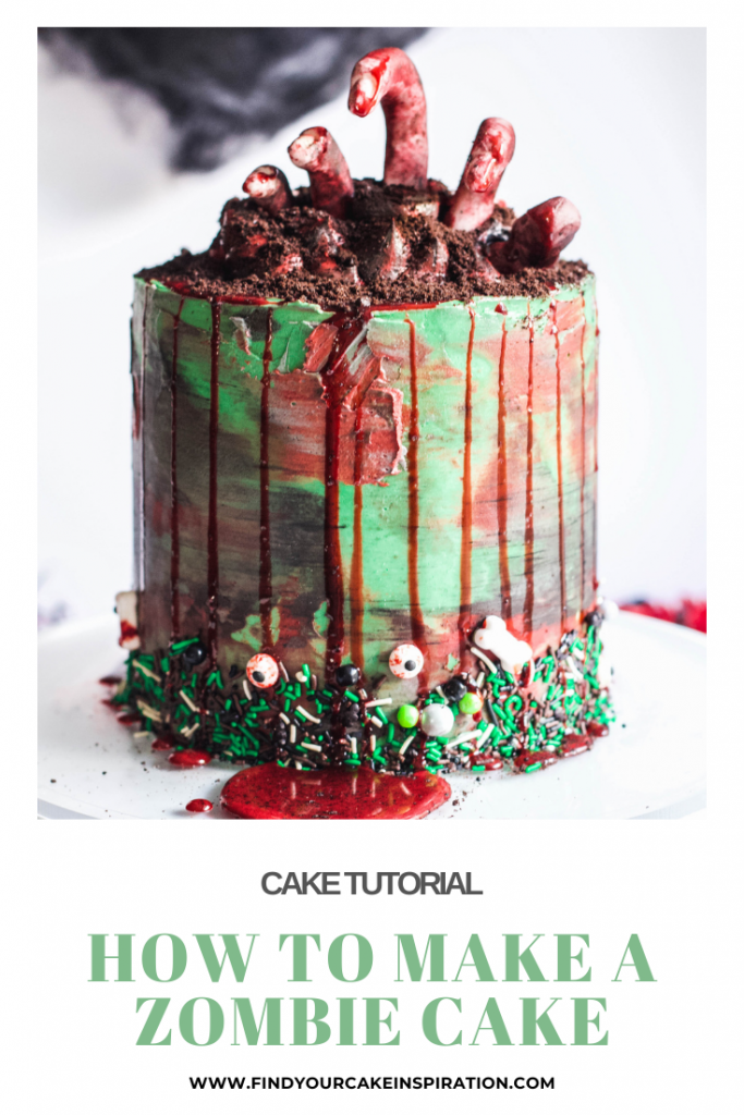 How to Make a Zombie Cake