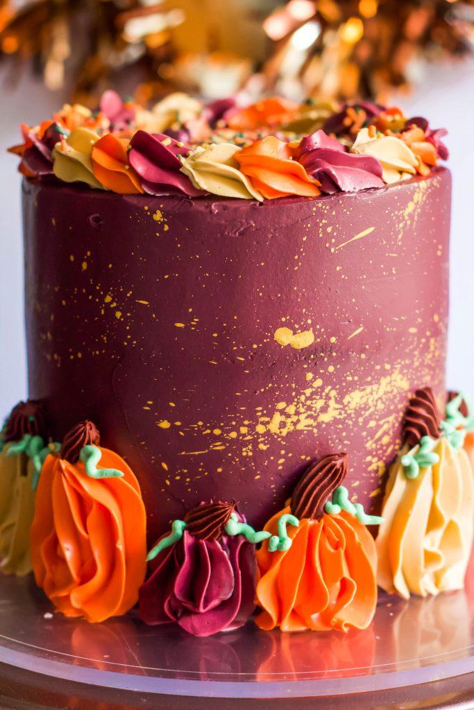Buttercream Pumpkin Cake