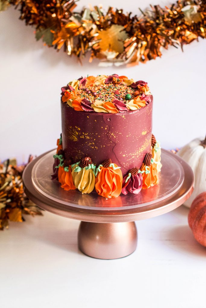 Harvest Pumpkin Cakes