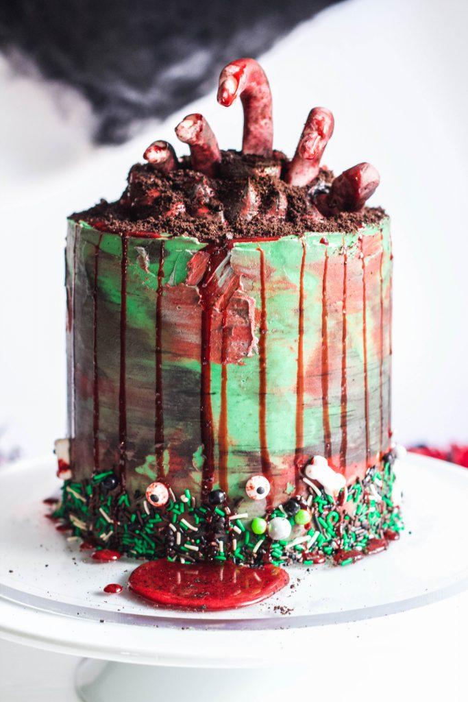 Zombie Cake Tutorial