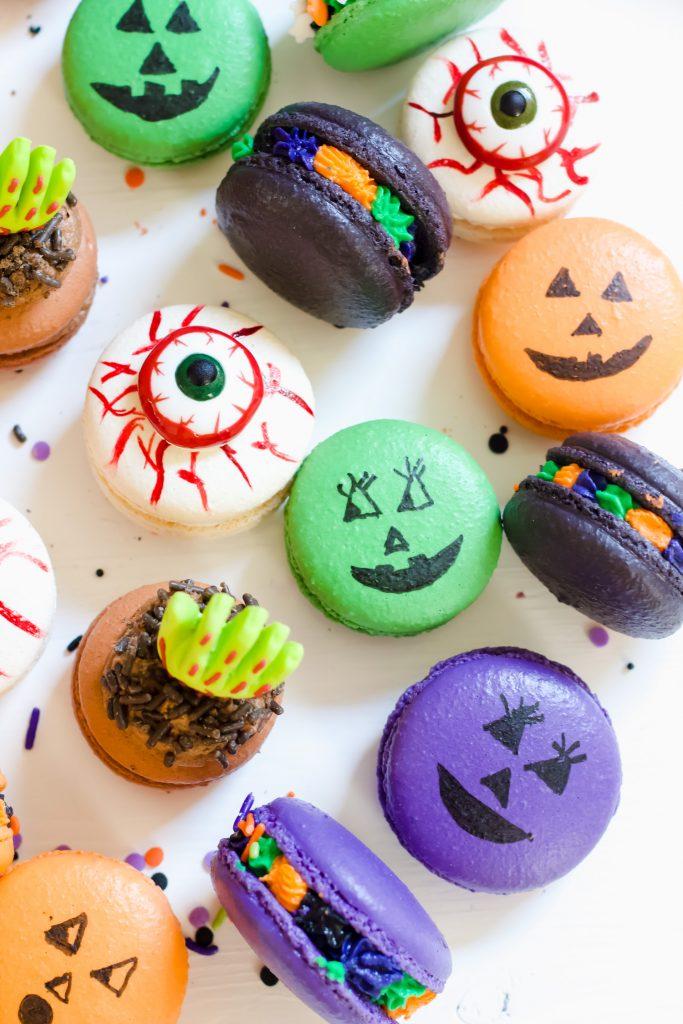 Halloween Macarons Tutorial
