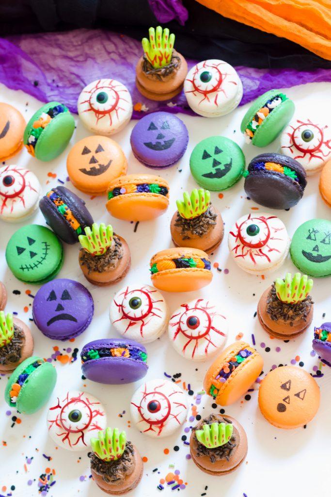 How to Make Halloween Macarons