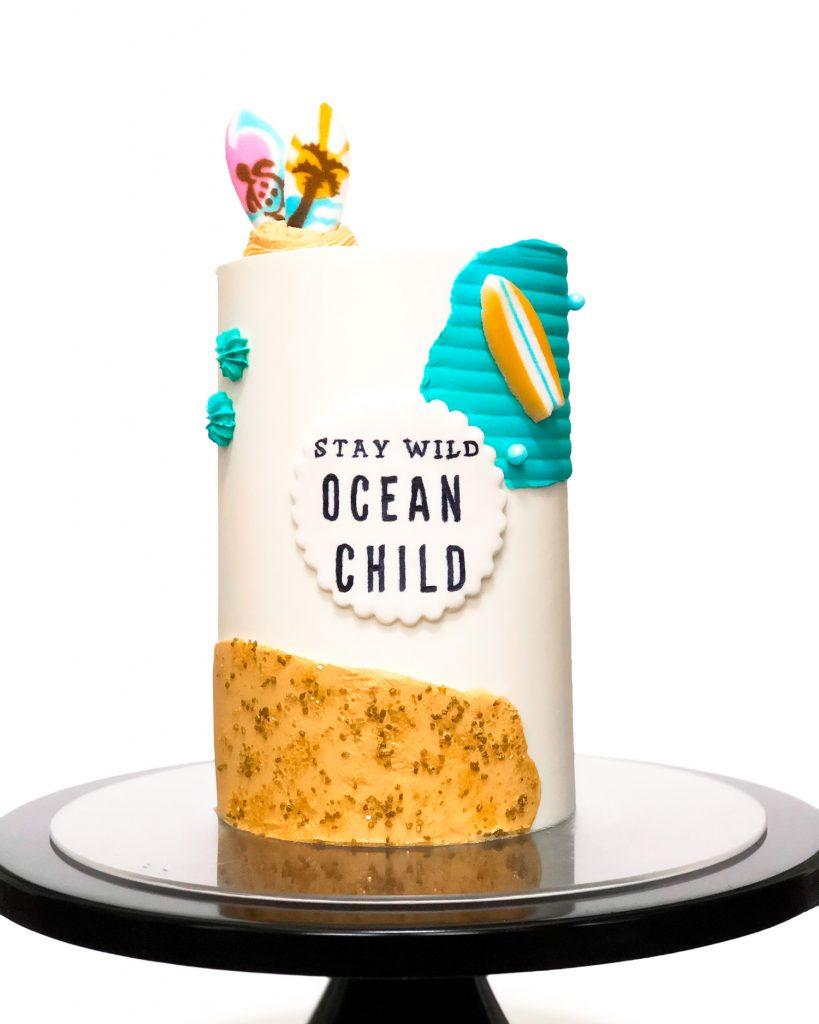 Beachin' It Cake