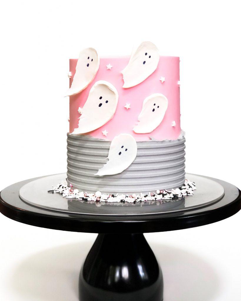 Boo Ghost Cake
