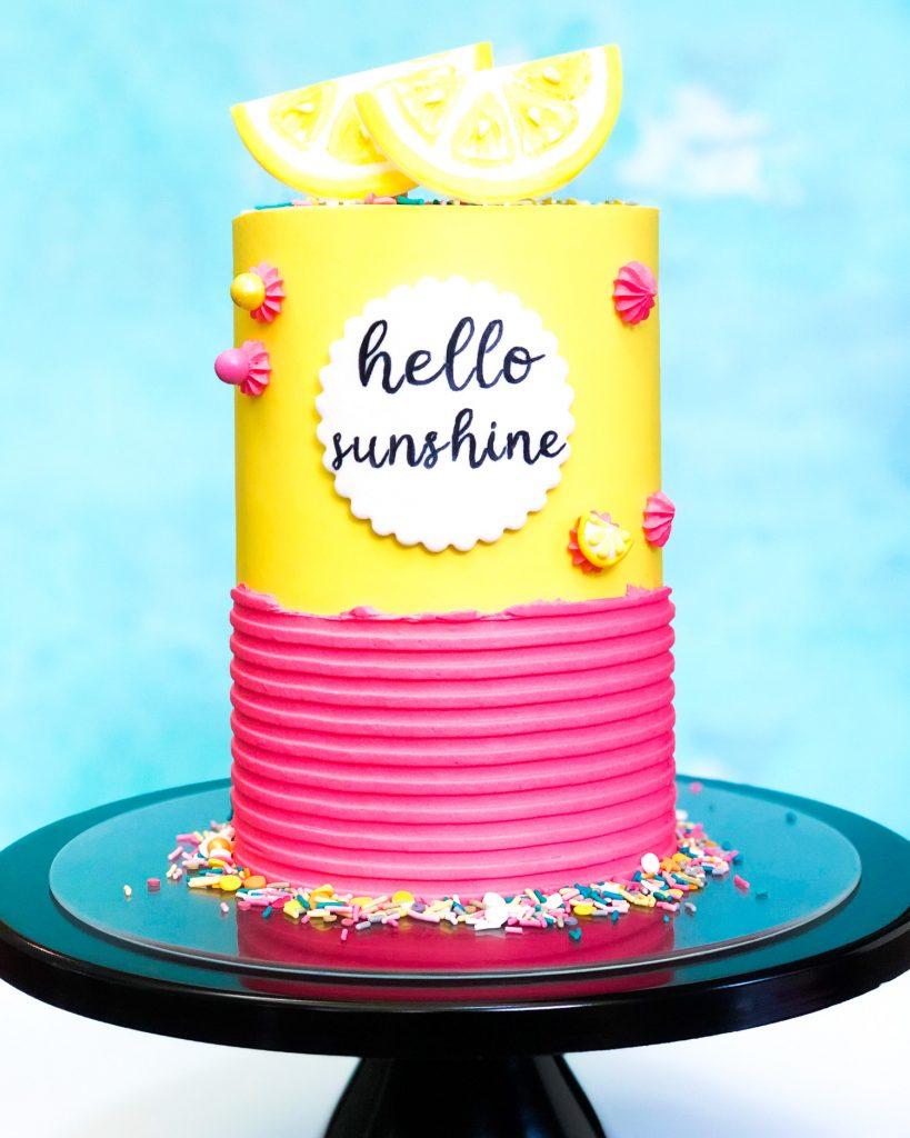 Hello Sunshine Cake