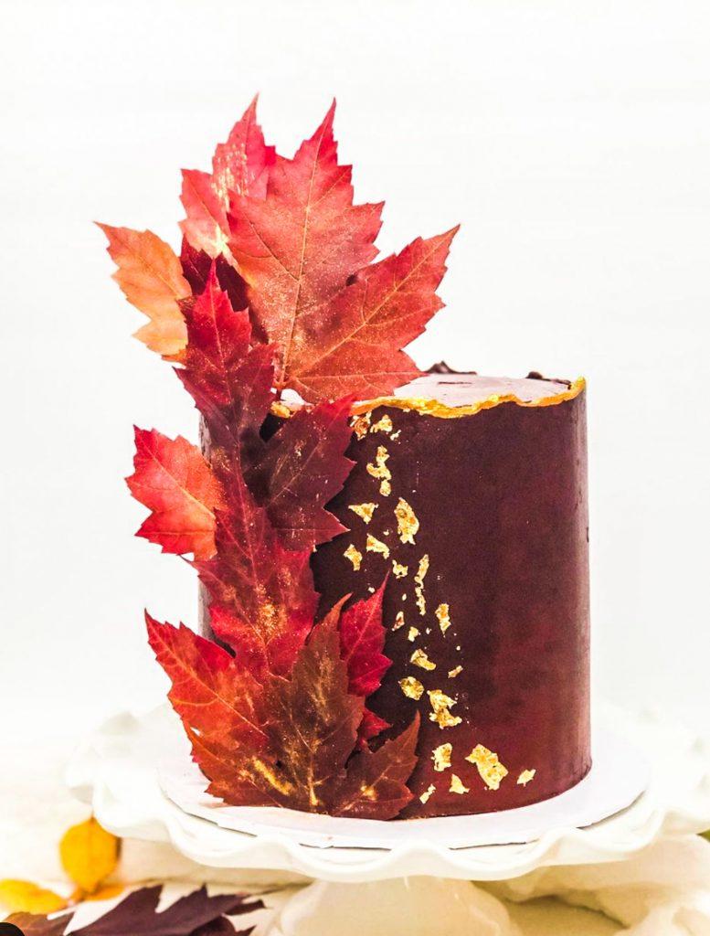 Maple Leaf Cake
