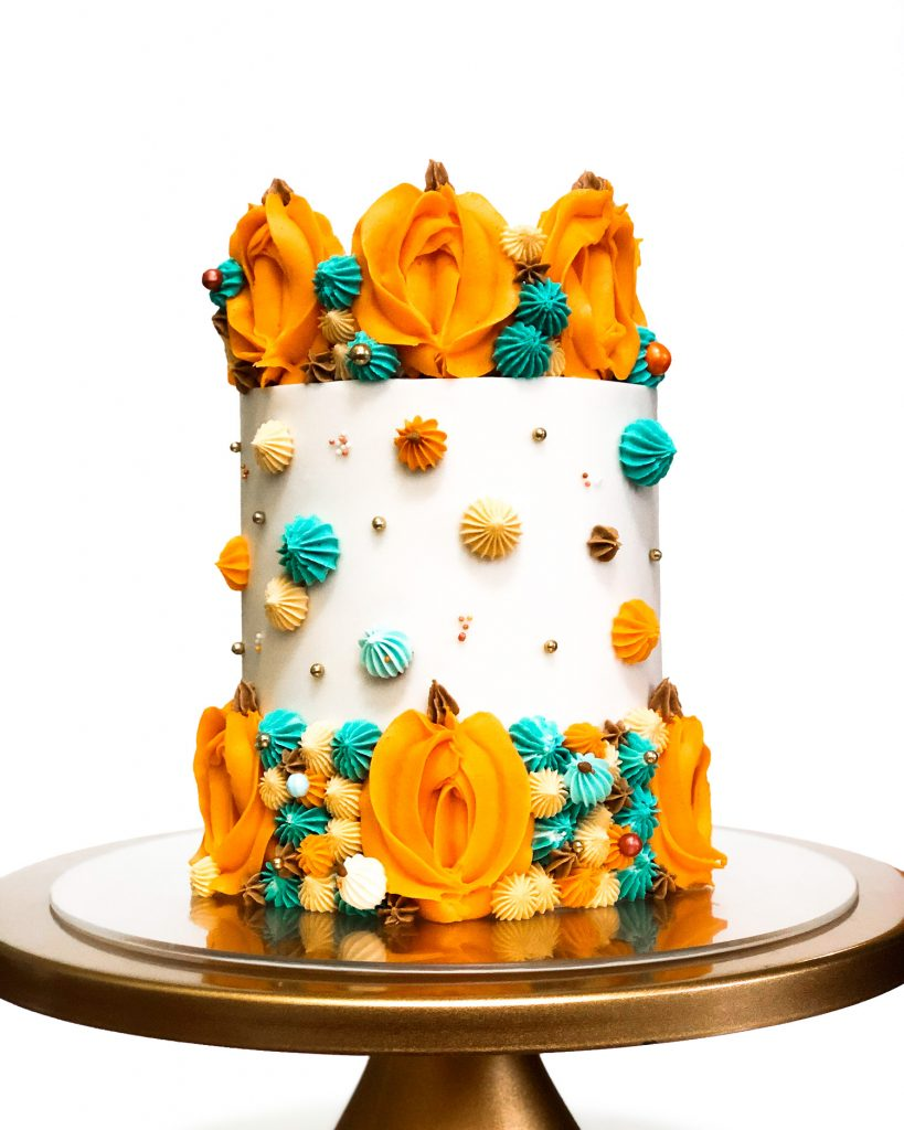 Pumpkins Cake