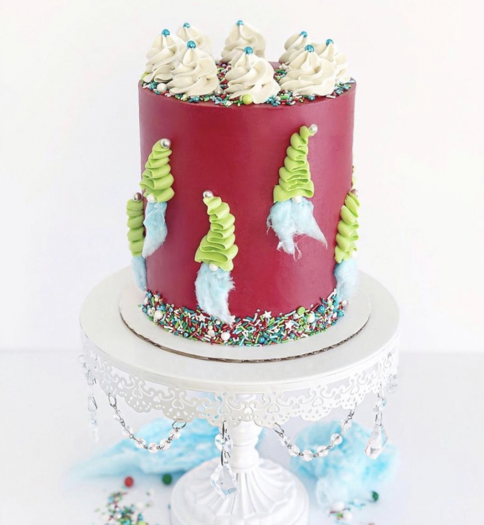 Adorable Gnome Cake