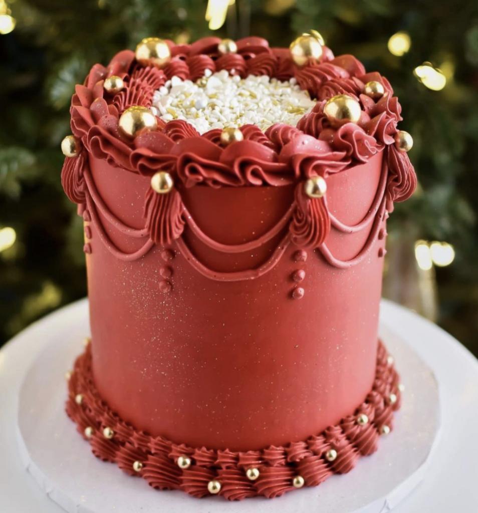 Christmas Lambeth Cake