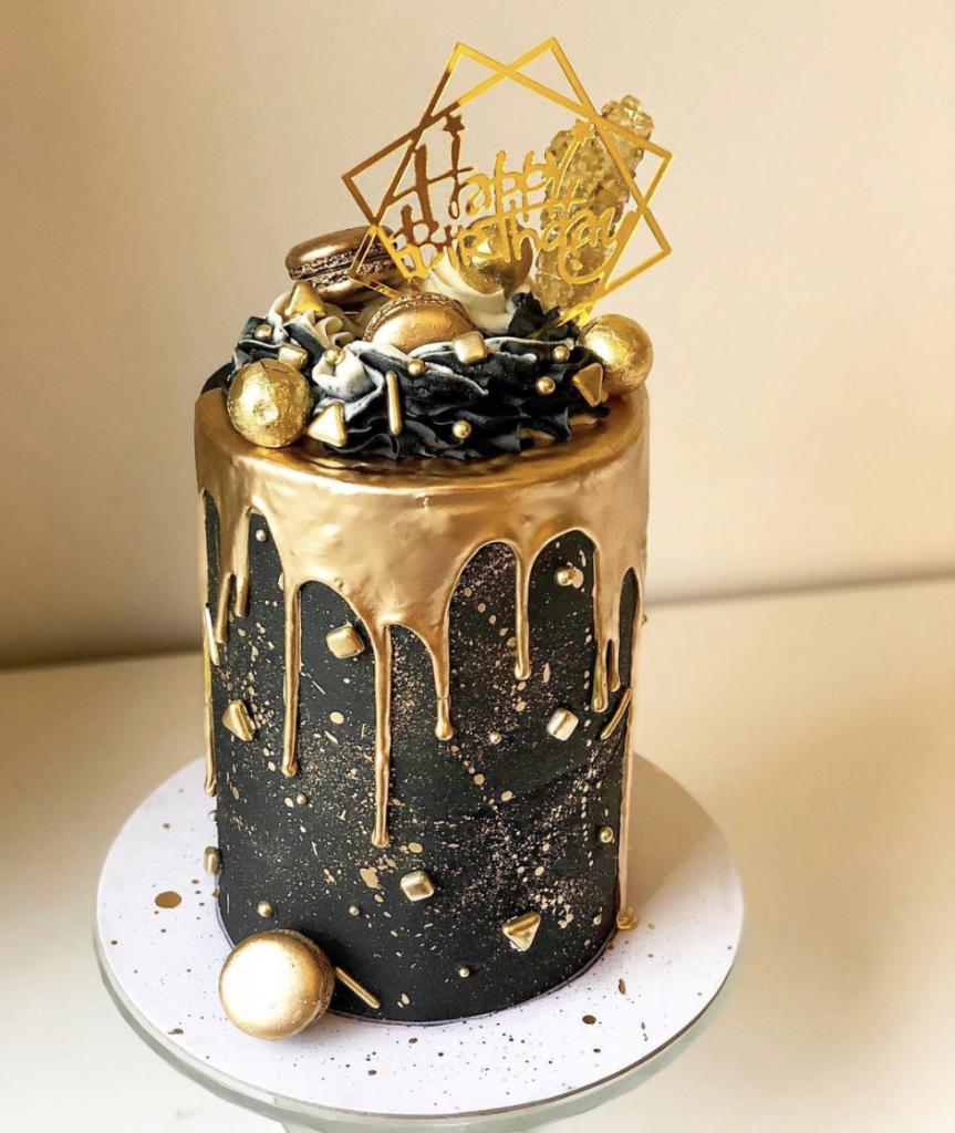 New Years Birthday Cake