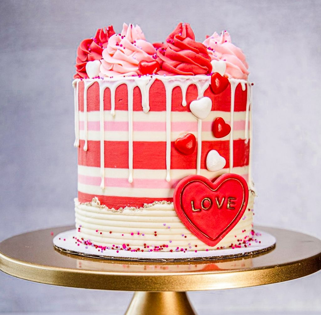 Ultimate Valentine's Day Cake