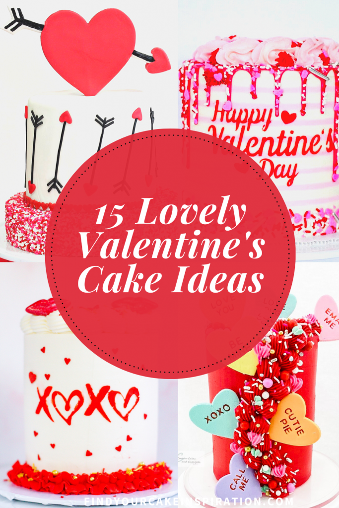 15 lovely valentines day cake ideas