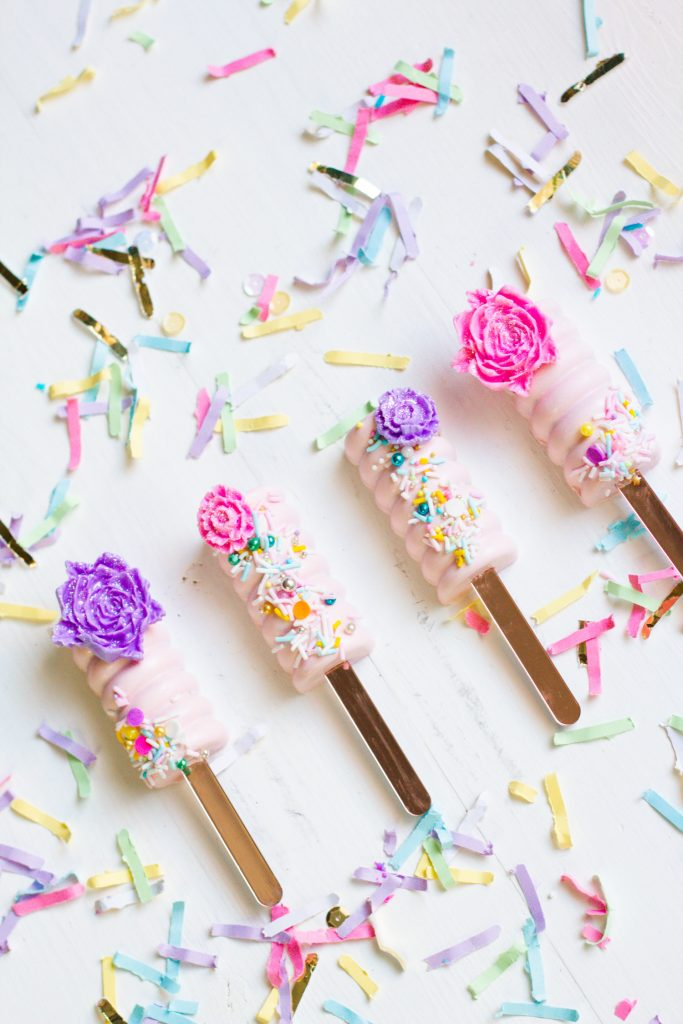 Spring Blooms Cakesicles