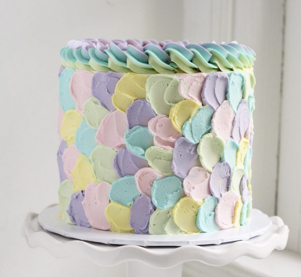 Abstract Easter Cake