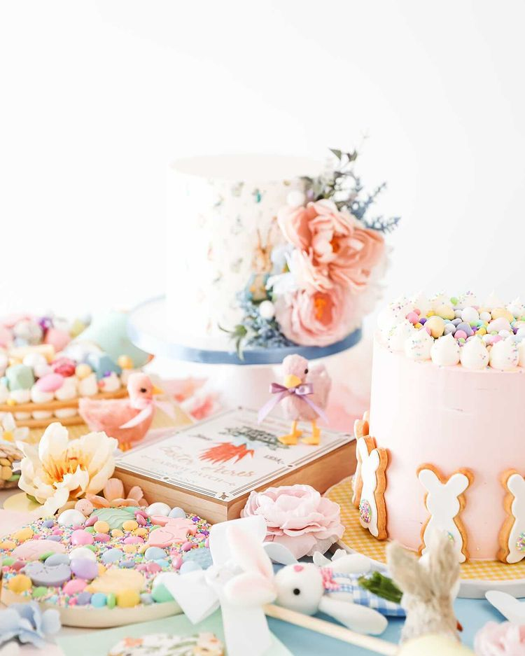 Easter Cakes Spread