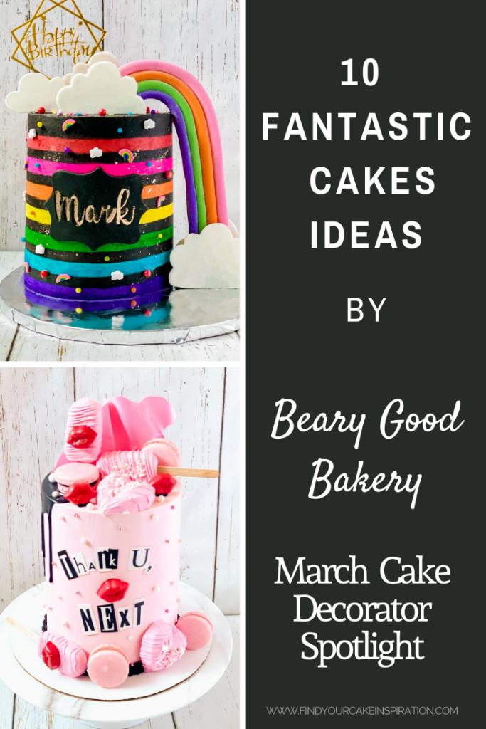 March Cake Decorator Spotlight