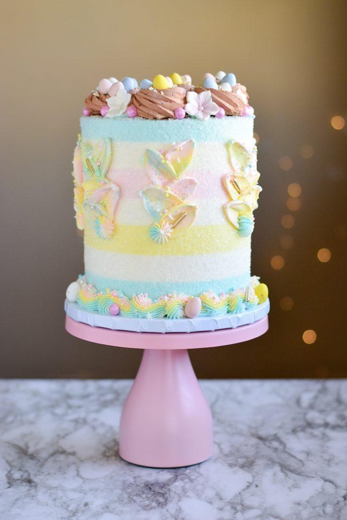 Pastel Easter Cake