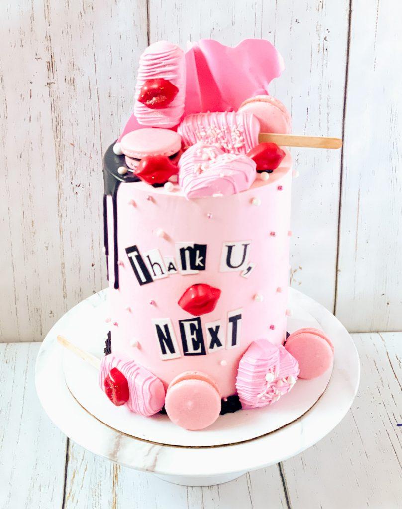 Thank U Next Cake