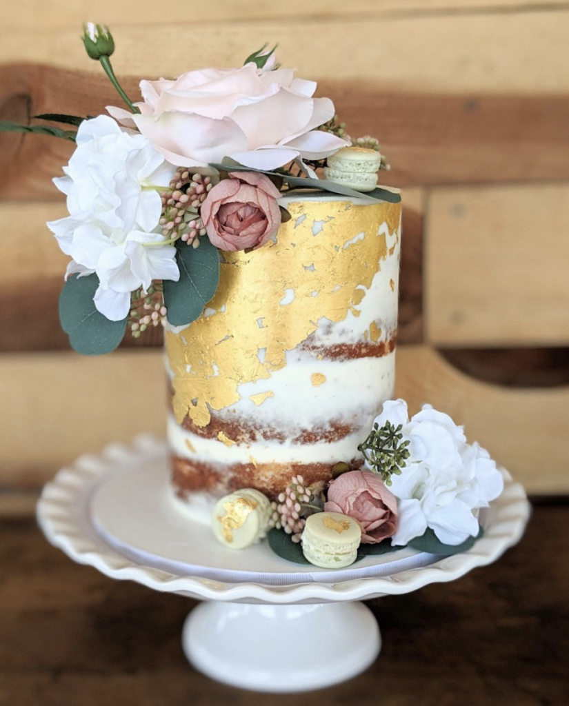 Semi-Naked Mother's Day Cake