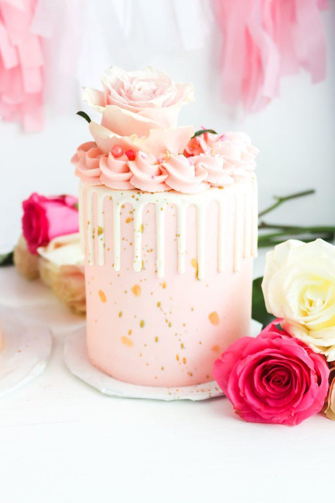 Dusty Rose Cake