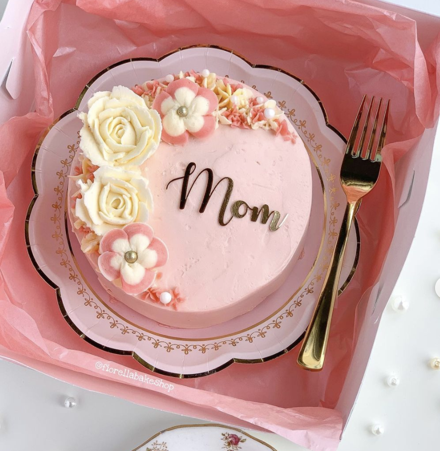 Mother's Day Lunch Box Cakes