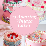 15 Amazing Vintage Cakes You Will Love