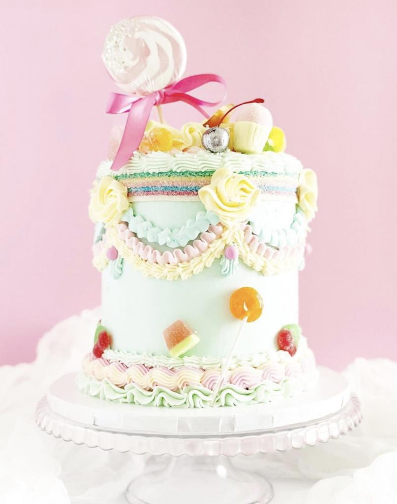 Lambeth Candy Cake