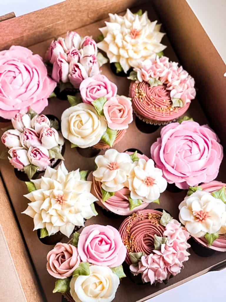 Blossoming Cupcakes