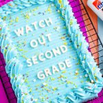How to Make a Letterboard Cake For Your Party