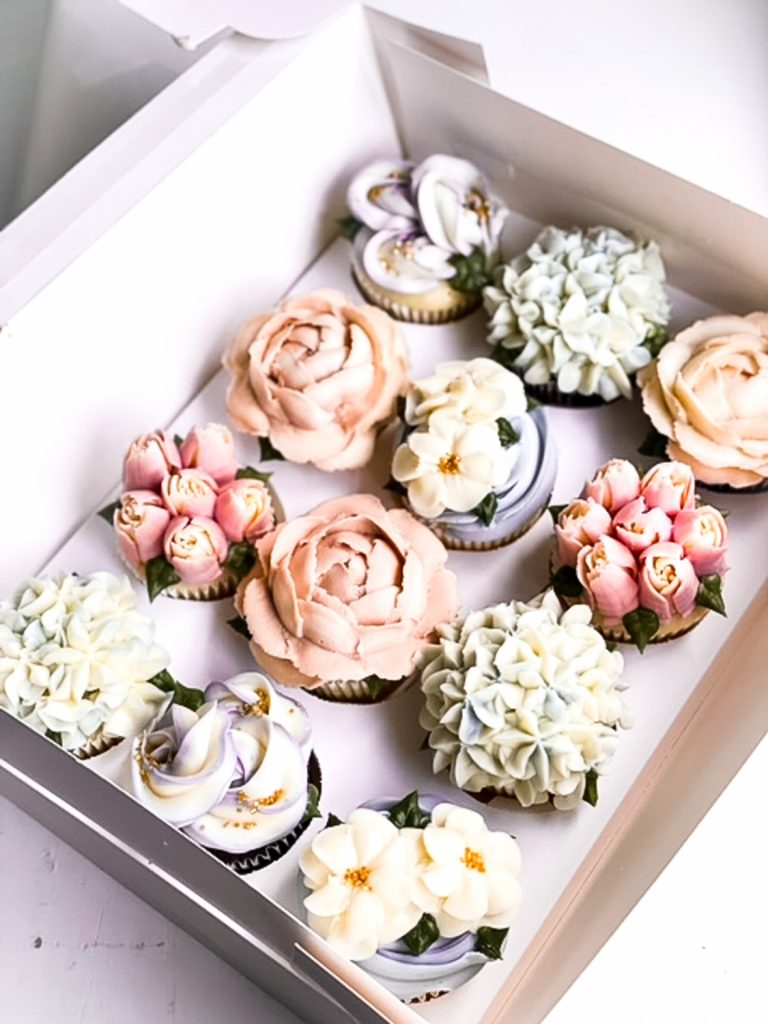 Muted & Neutrals Cupcakes