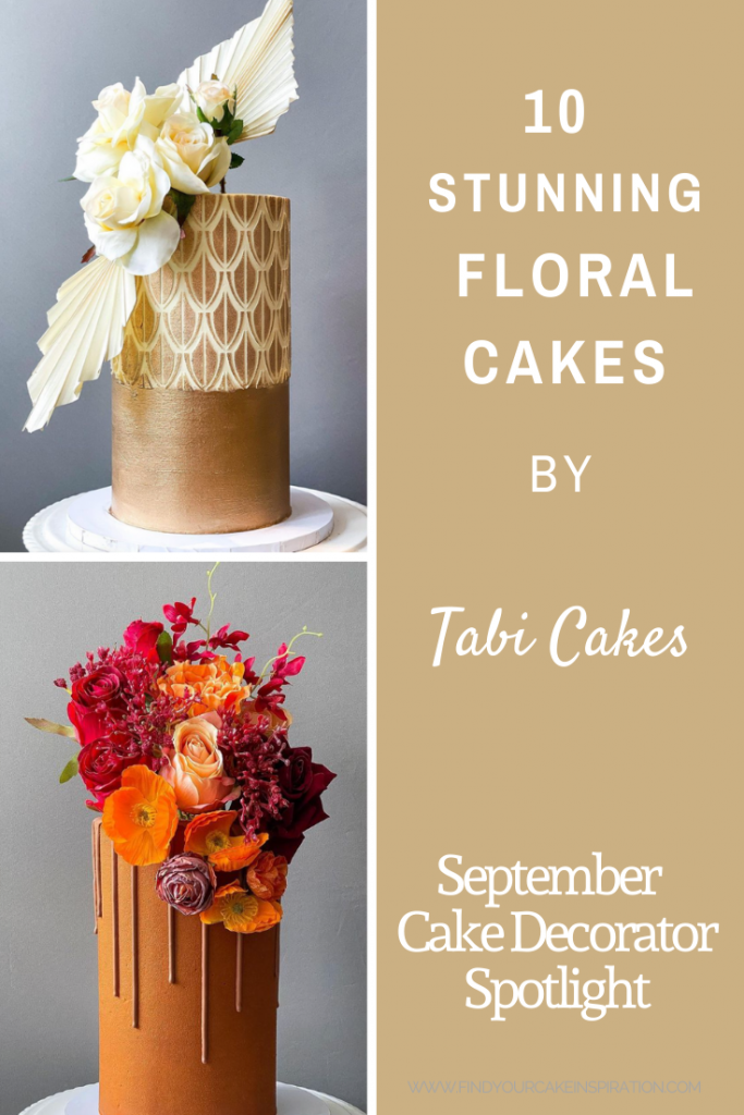 10 Stunning Floral Cakes